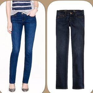 J.crew Matchstick Straight Leg Blue Jeans Size 30